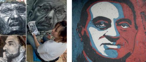 peintures portraits de la Demeure du Chaos